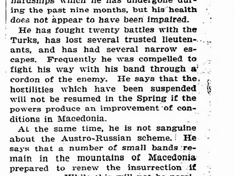 1903.11.18_The New York Times - Macedonians not quelled