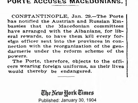 1904.01.30_The New York Times - Porte accuses Macedonians
