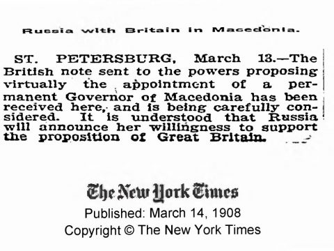1908.03.14_The New York Times - Russia with Britain in Macedonia
