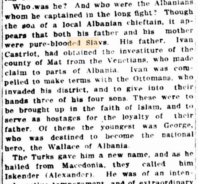 1912.11.23_The Sydney Morning Herald - A.H.S. Lucas - 'The Walllace of Albania'